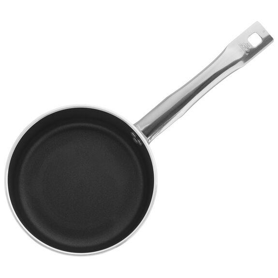 2.4-qt Aluminum Nonstick Low Saucepan Without Lid, , large 2