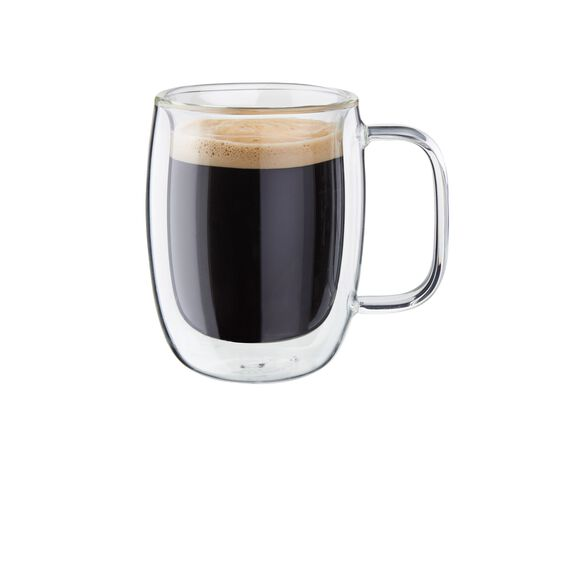 2-pc Double-Wall Glass Double Espresso Mug Set,,large