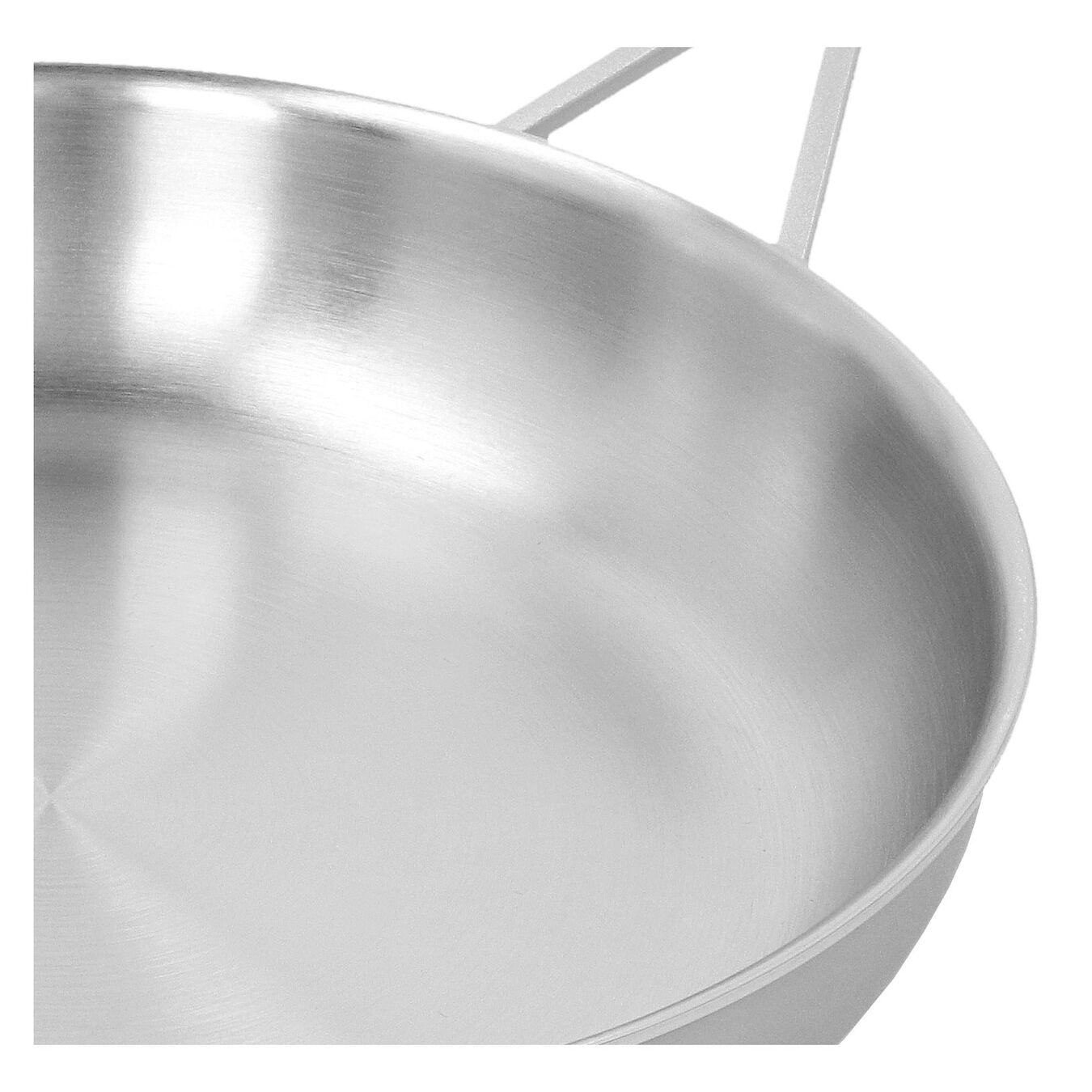 11-inch, 18/10 Stainless Steel, Frying pan,,large 4