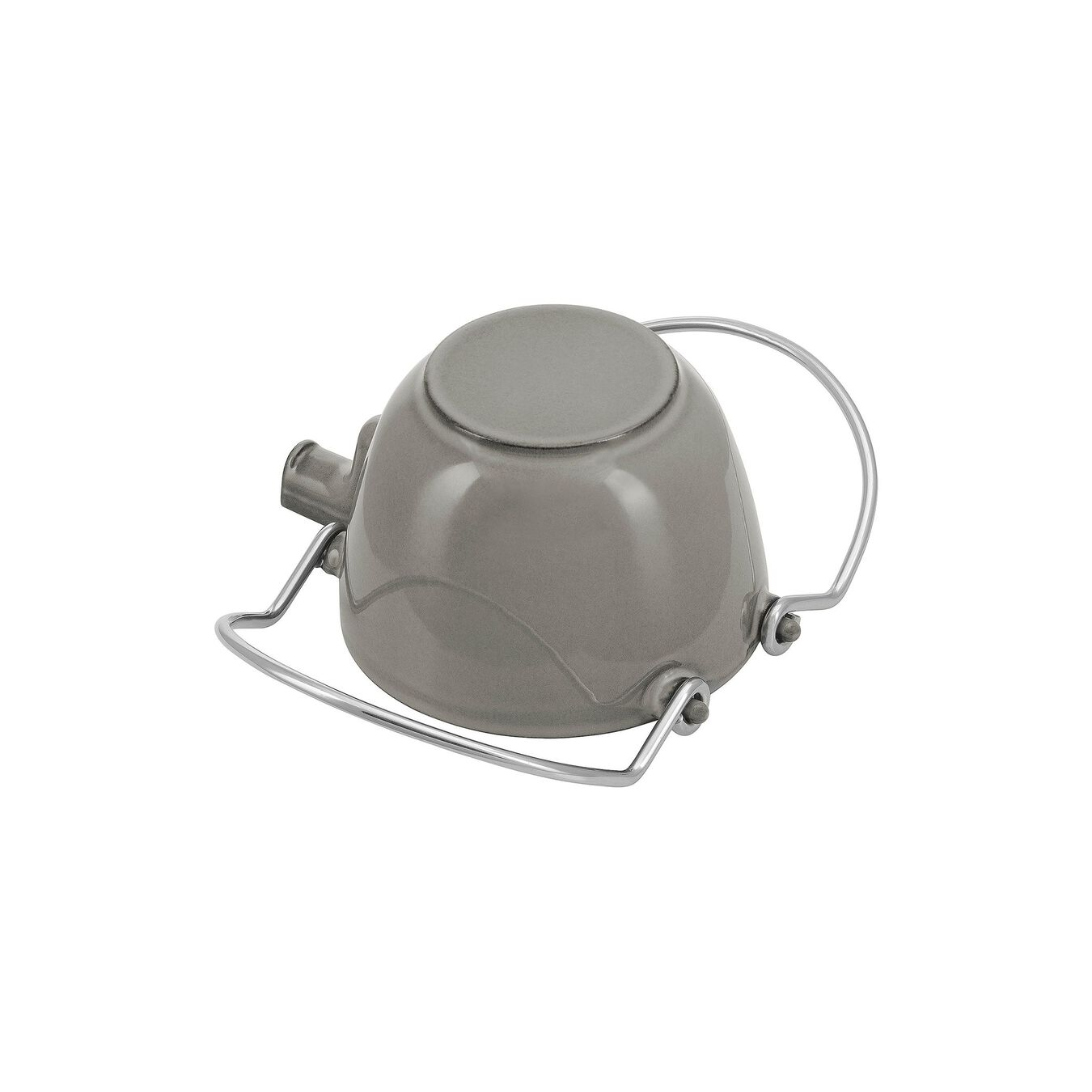 1-qt Round Tea Kettle - Graphite Grey,,large 3