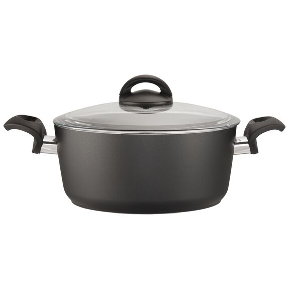 4.5-qt Forged Aluminum Nonstick Dutch Oven with Lid, , large