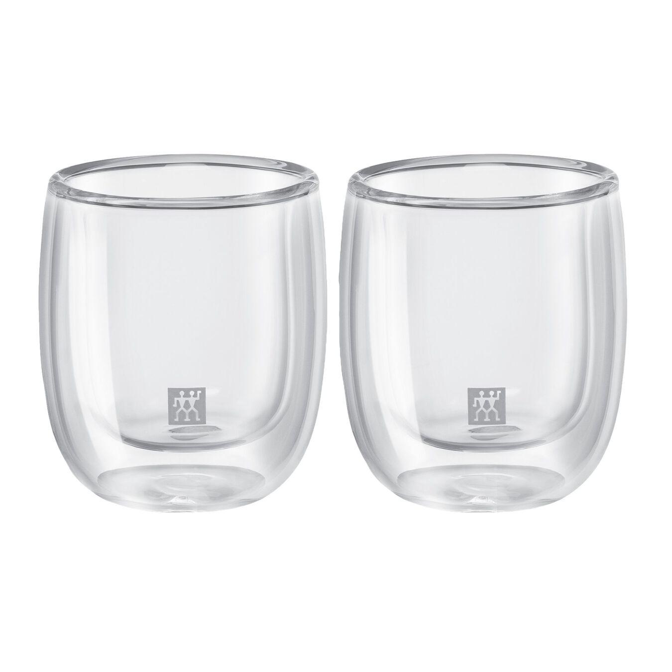 Çift Camlı Espresso bardağı seti, 2-parça,,large 1