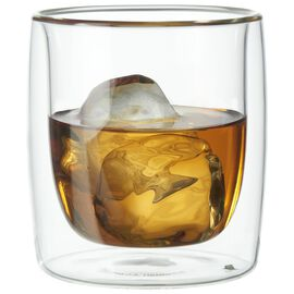 2-pc Whisky glass set, Double wall glas