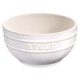 Staub Ceramique, Bol 12 cm / 0.4 l, Blanc ivoire