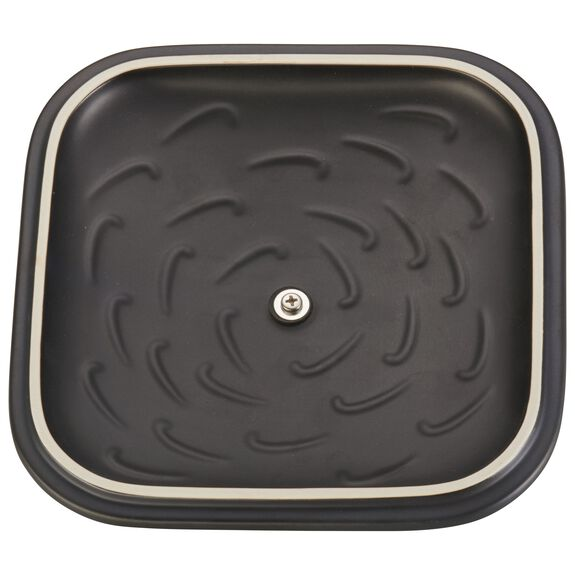 9-inch Ceramic Square Covered Baking Dish,,large 3