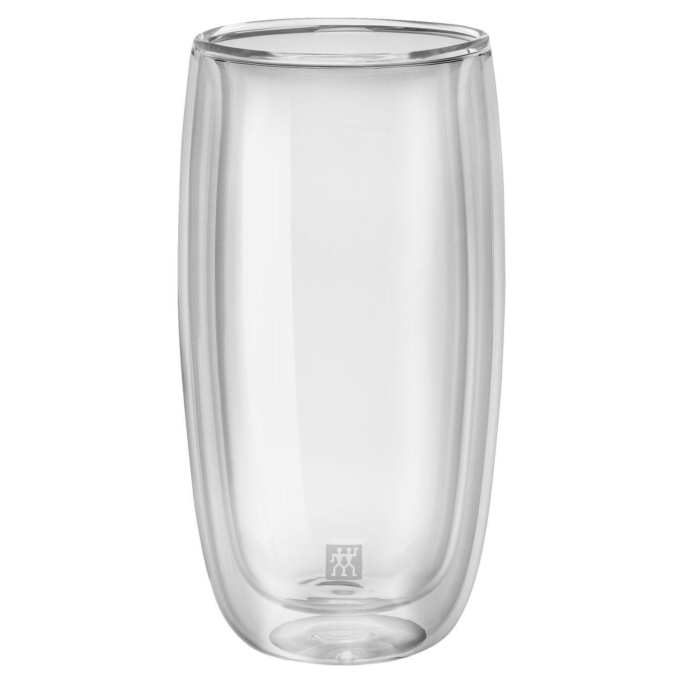 Set di bicchieri da softdrink - 2-pz., vetro borosilicato,,large 1
