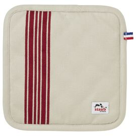 Staub French Line, 2 Piece Cotton Pot holder set, Cherry