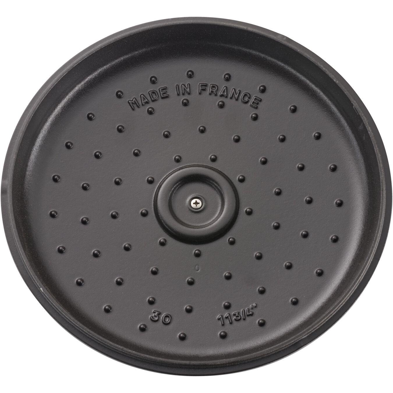12-inch, Saute pan, black matte,,large 5