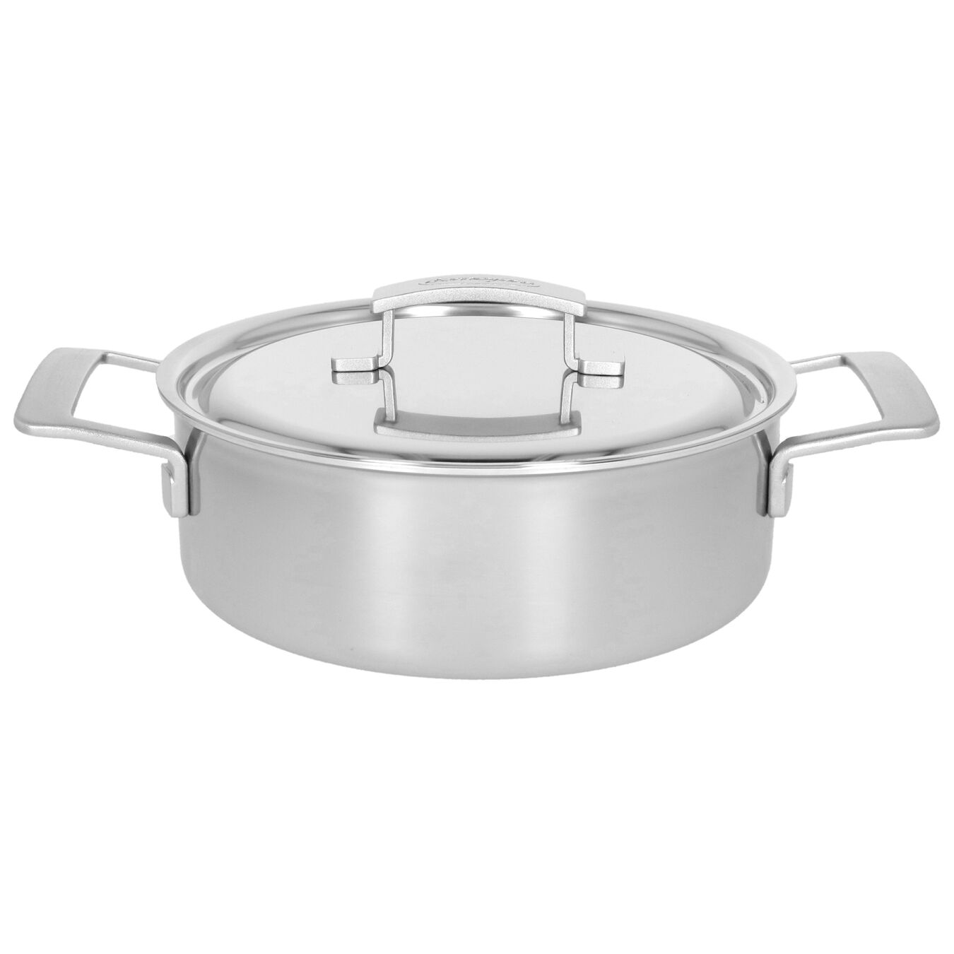 4 qt, 18/10 Stainless Steel, Stew pot with lid,,large 1