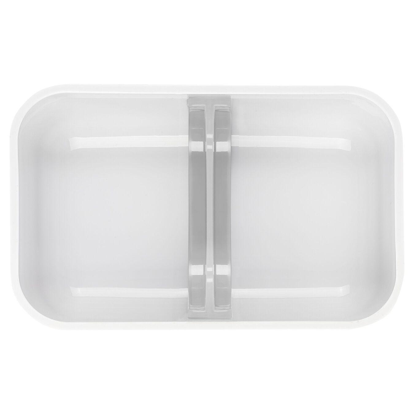 medium Vacuum lunch box, Plastic, white,,large 4