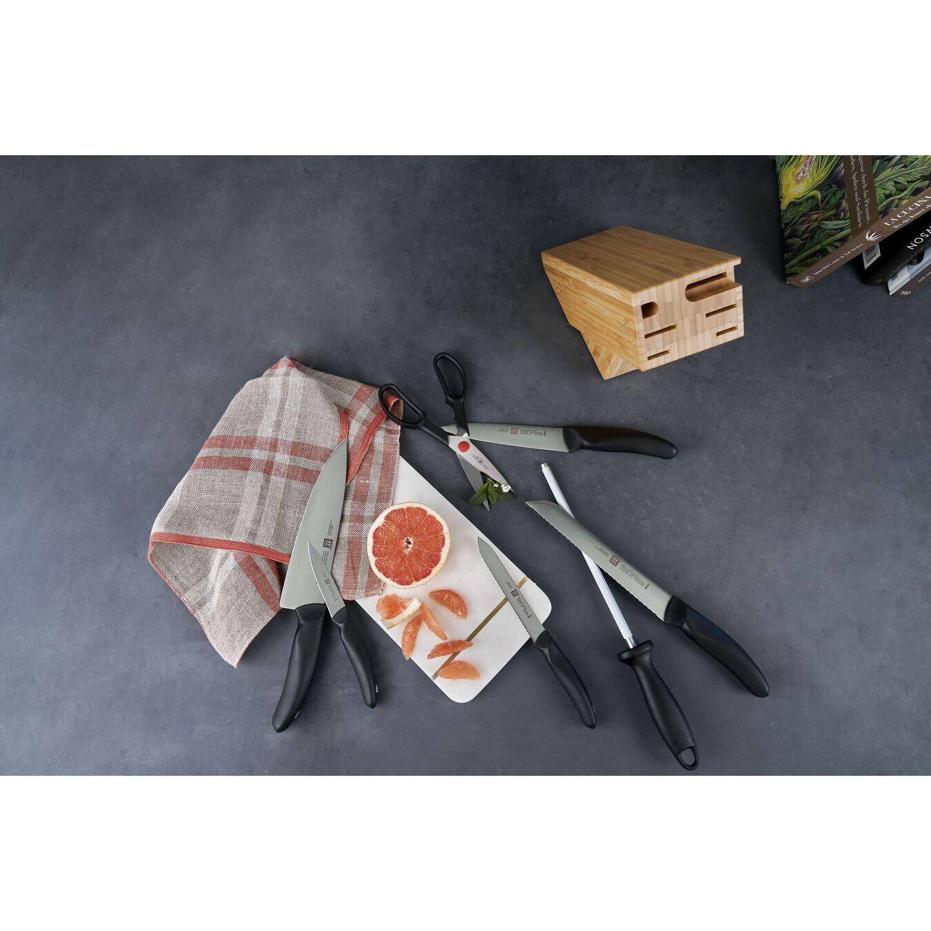 Set di coltelli con ceppo - 8-pz., naturale,,large 3