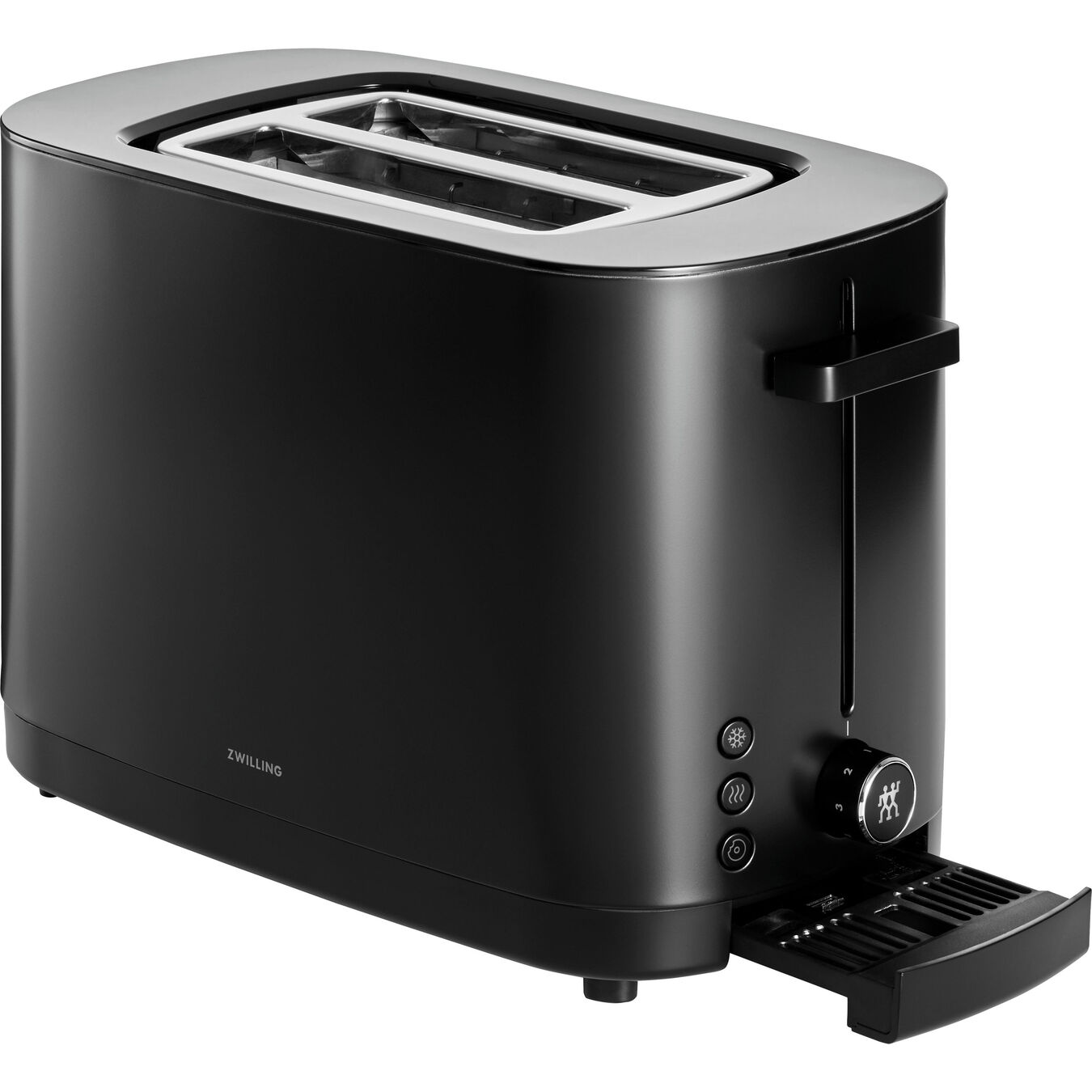 2 short  slots Toaster - black,,large 2