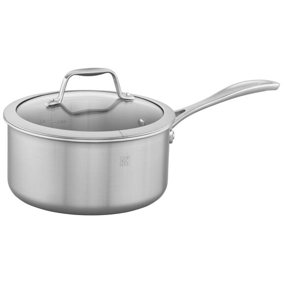3-ply 4-qt Stainless Steel Saucepan,,large