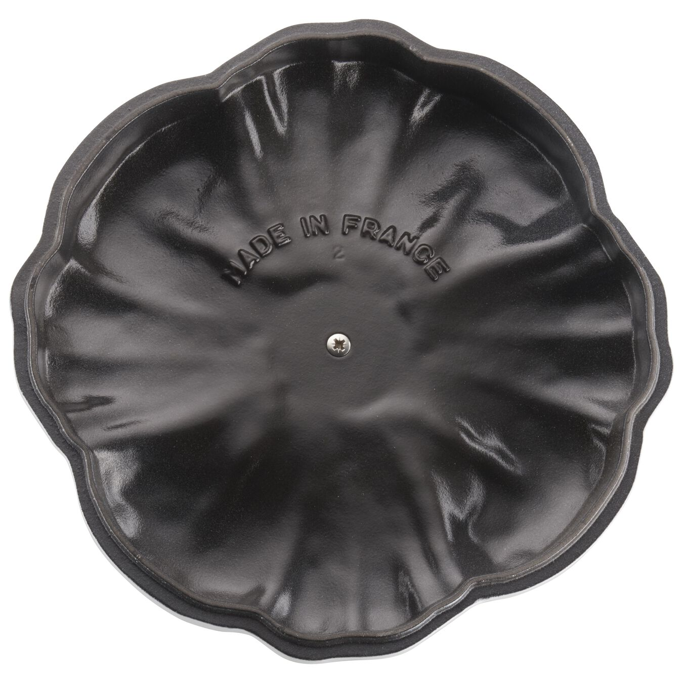 3,5 l Cast iron Citrouille Faitout, Pure-White,,large 8