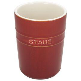 Staub Ceramics, Utensil Holder, Rustic Red