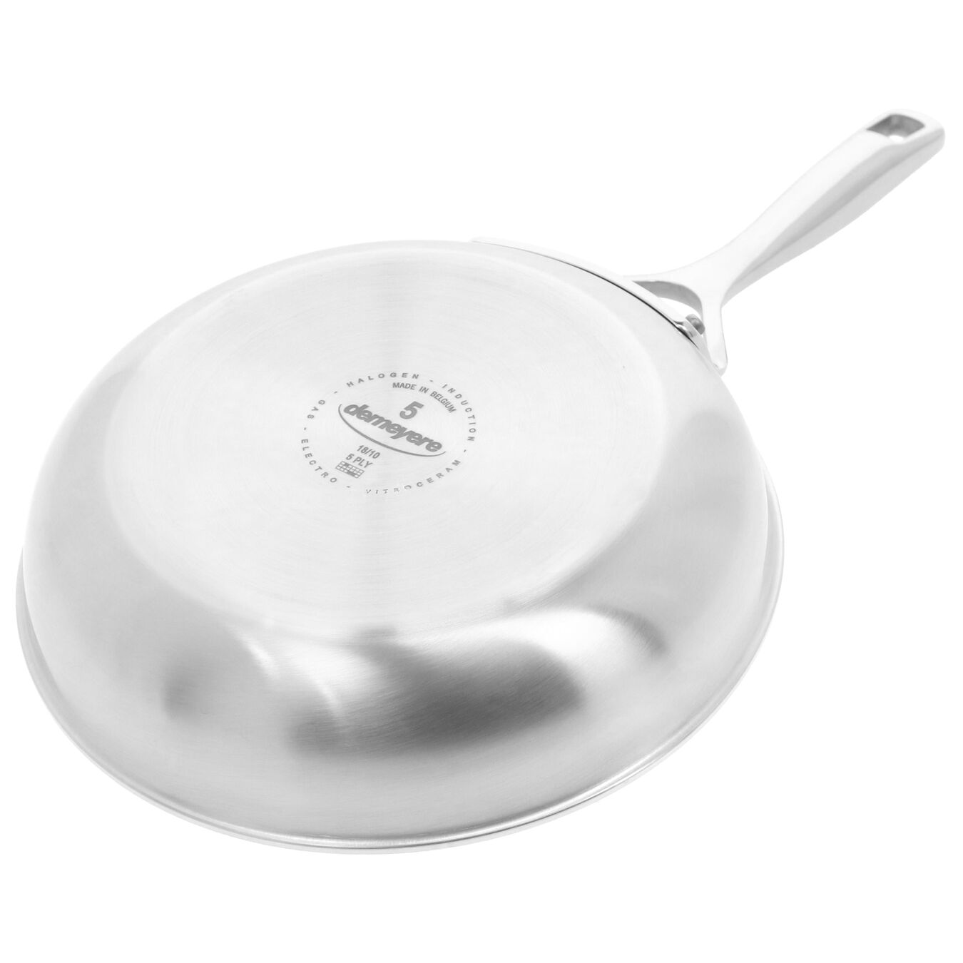 8-inch, 18/10 Stainless Steel, Non-stick, Frying pan,,large 7