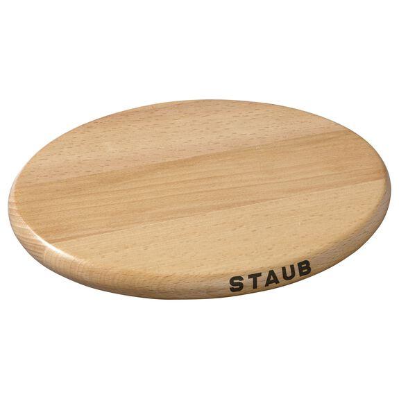 Untersetzer magnetisch 21 cm, oval, Holz,,large