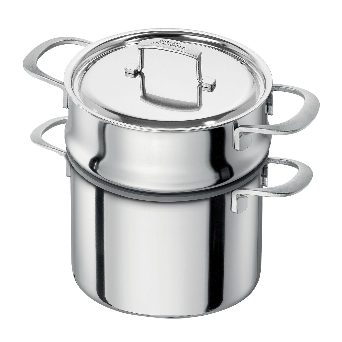 10-pcs 18/10 Stainless Steel Ensemble de casseroles et poêles,,large 6