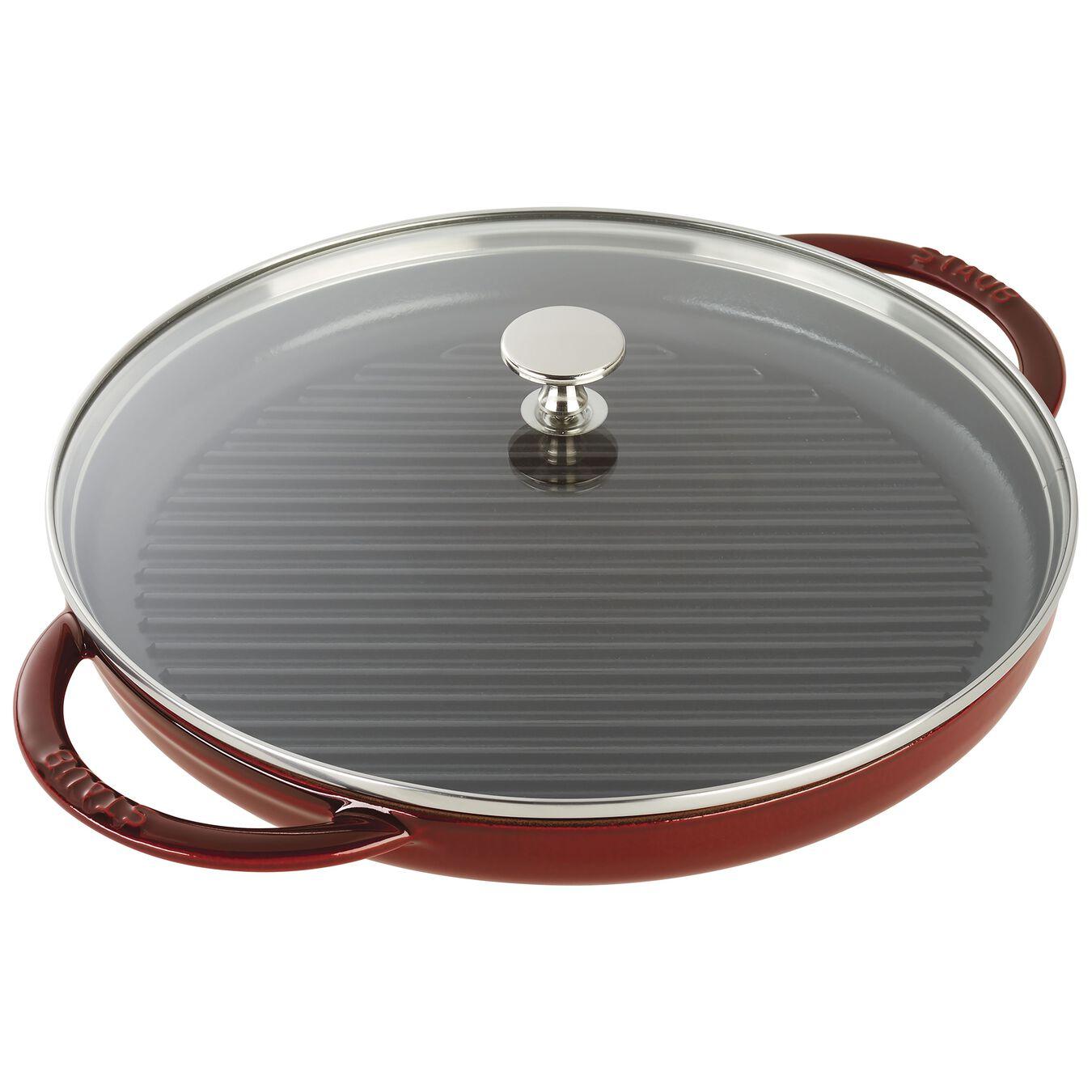 10-inch Round Steam Grill - Grenadine,,large 1