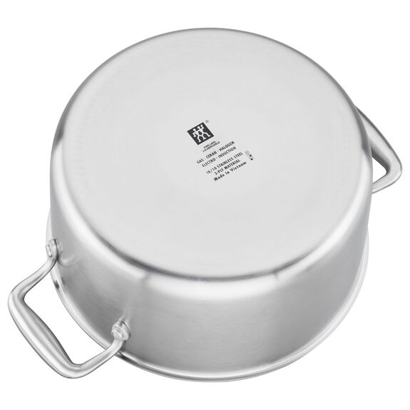 3-ply 6-qt Stainless Steel Dutch Oven,,large 5