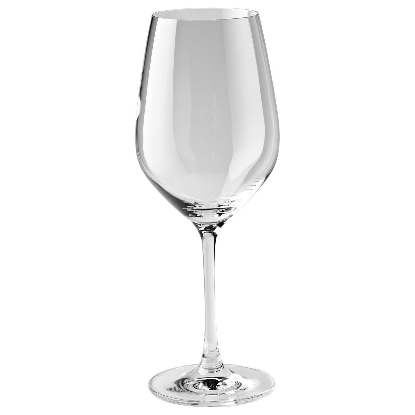 0.425 qt / 6-pc  Burgundy White Glass Set,,large 2