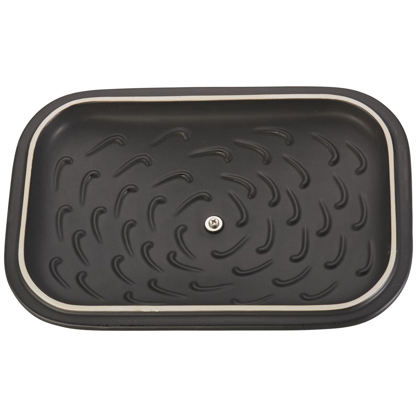 Ceramic rectangular Moules de forme spéciale, Black,,large 5