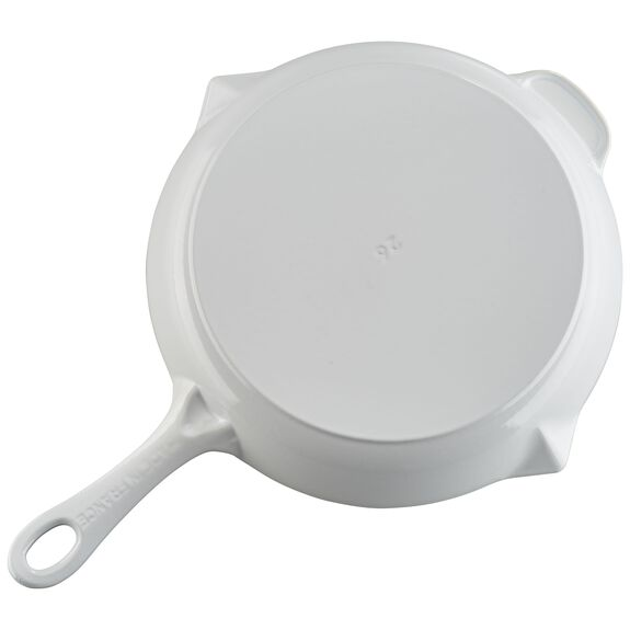 10-inch Fry Pan - White,,large 3