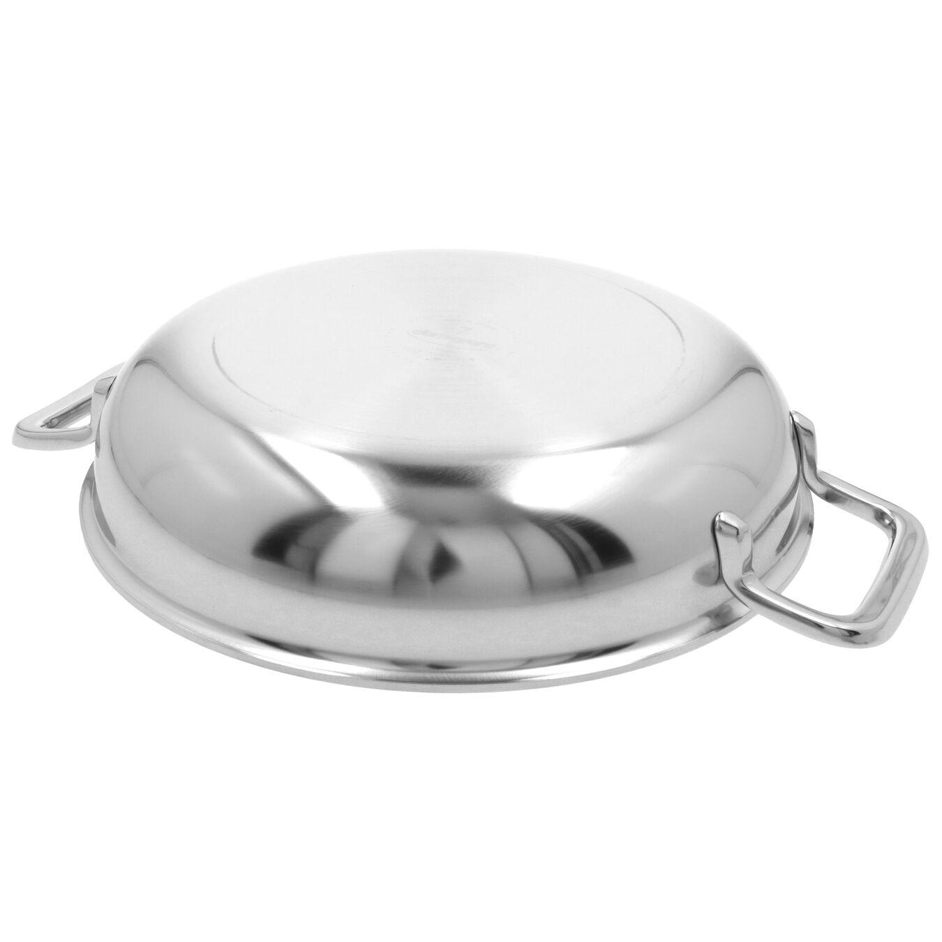 Bakpan met 2 handgrepen Zilverkleurig 24 cm,,large 3