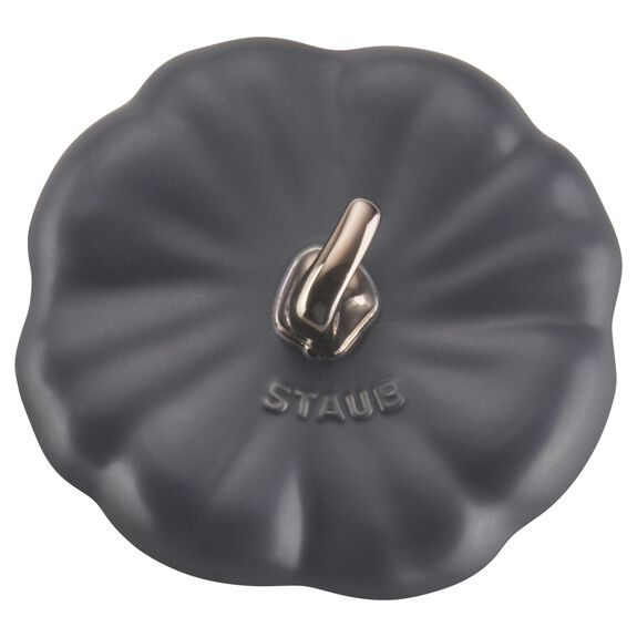 24-oz Pumpkin Cocotte - Matte Black,,large 9