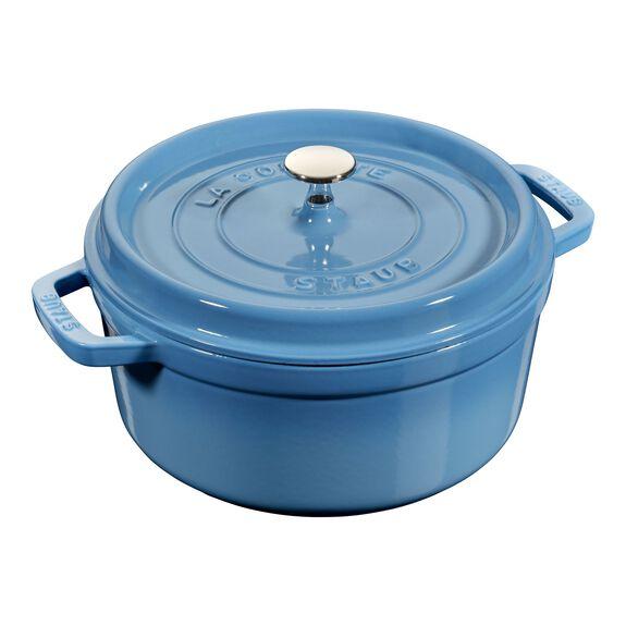 5.5-qt round Cocotte, Ice-Blue,,large