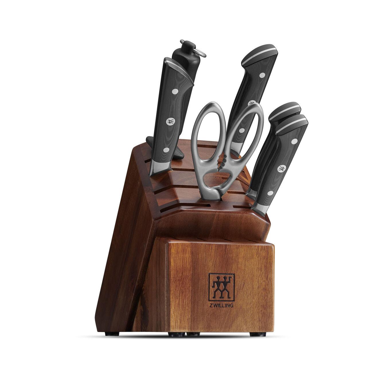 7-pc Knife block set ,,large 1