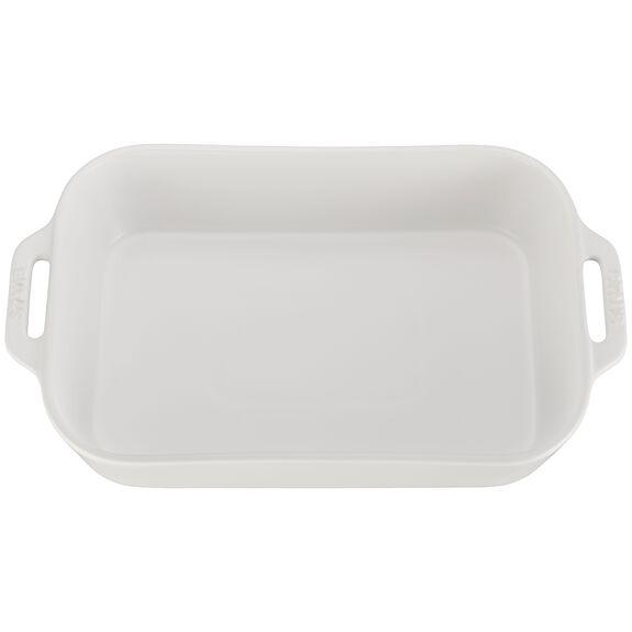 """13x9"""" Rectangular Baking Dish, Matte White, , large 2"""