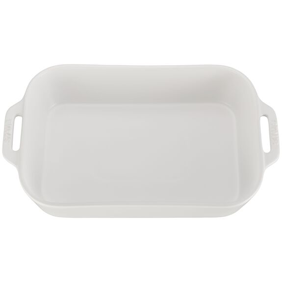 "13x9"" Rectangular Baking Dish, Matte White, , large 2"