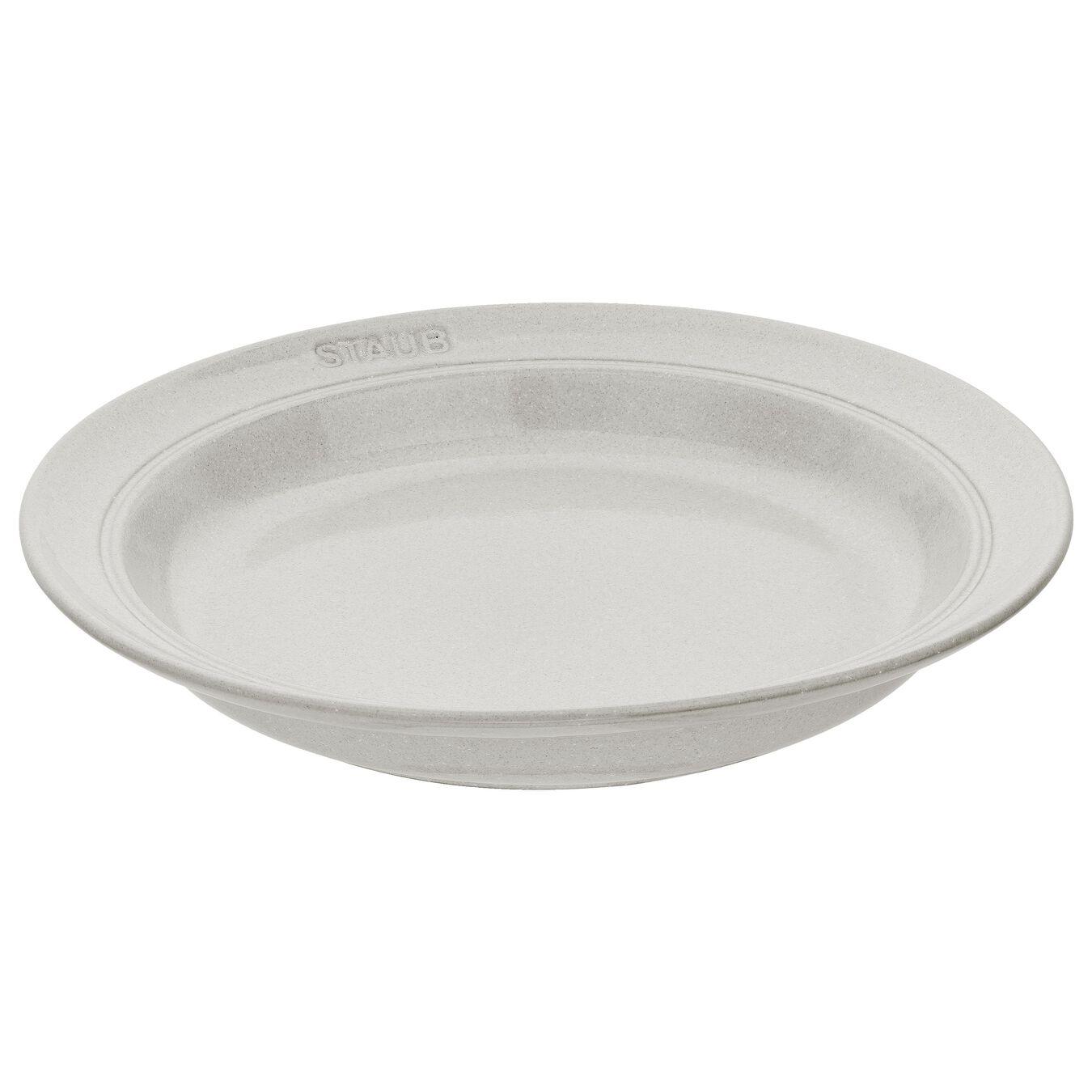 Piatto rotondo - 24 cm, tartufo bianco,,large 1