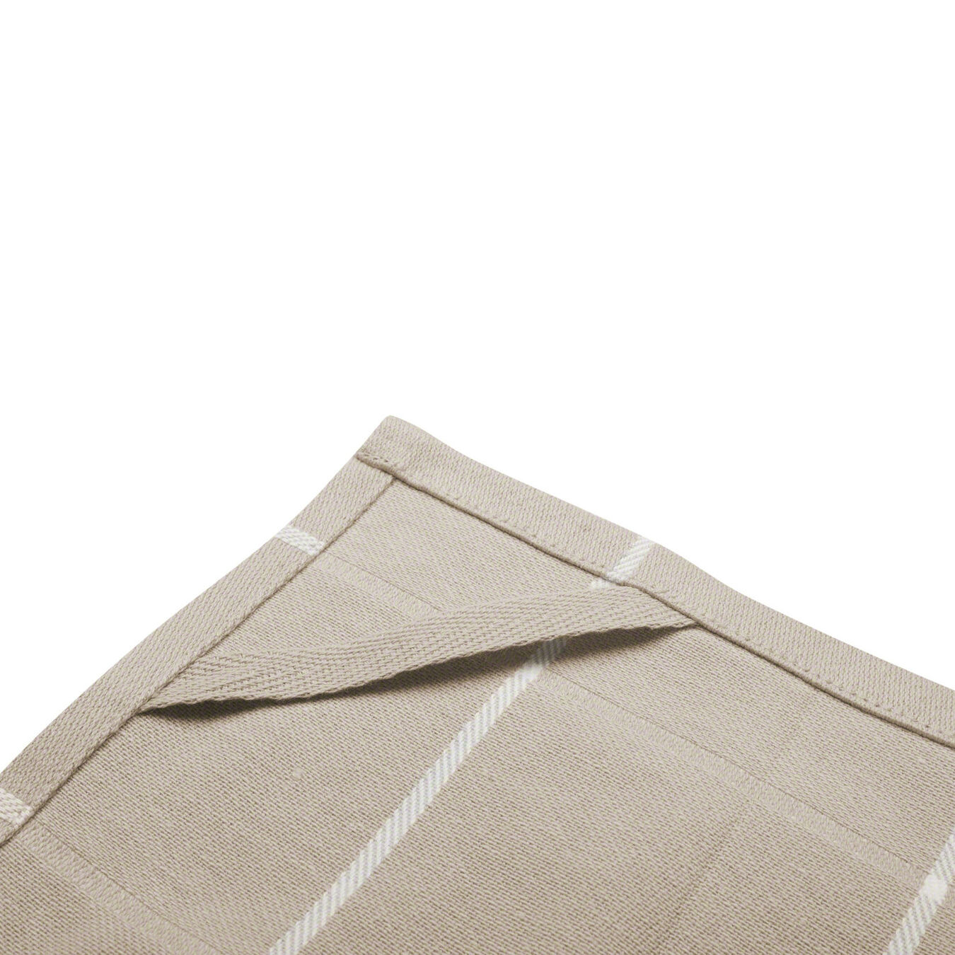 2 Piece Cotton Kitchen towel set checkered, Taupe,,large 8