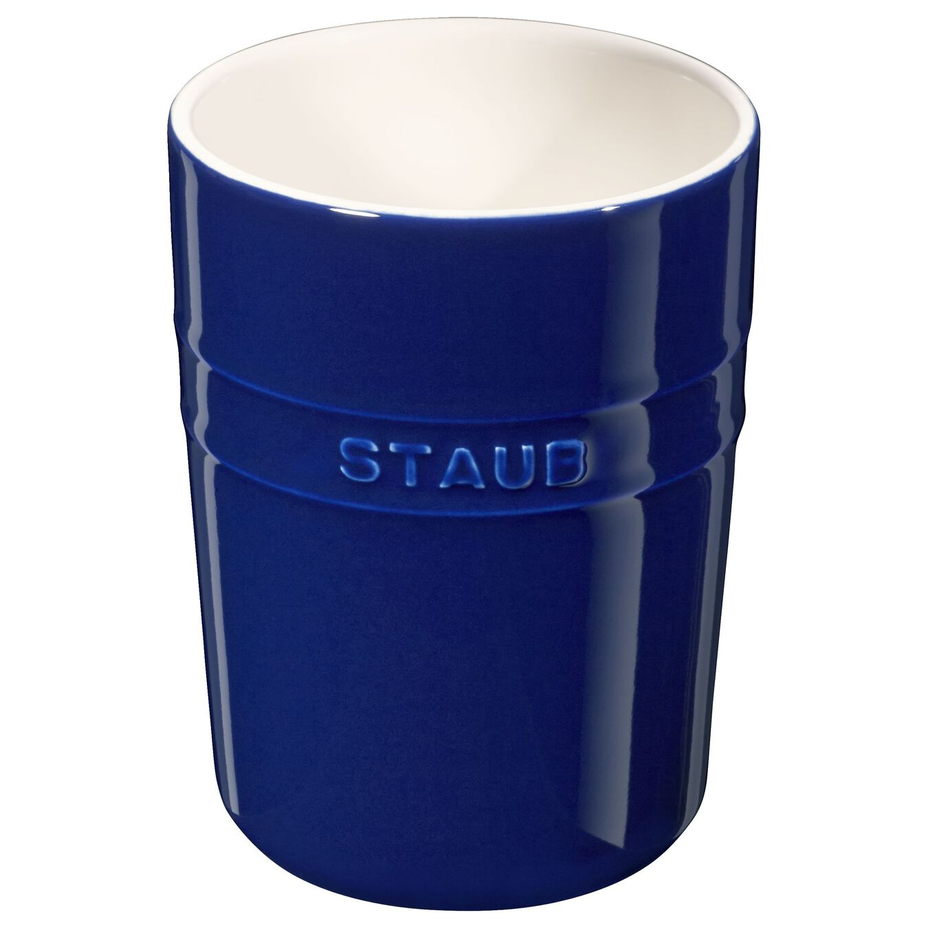 Utensil holder, dark blue,,large 1
