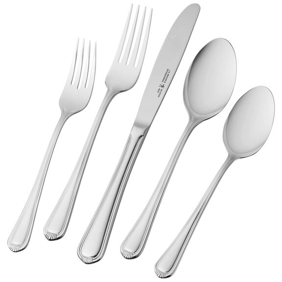 65-pc 18/10 Stainless Steel Flatware Set,,large