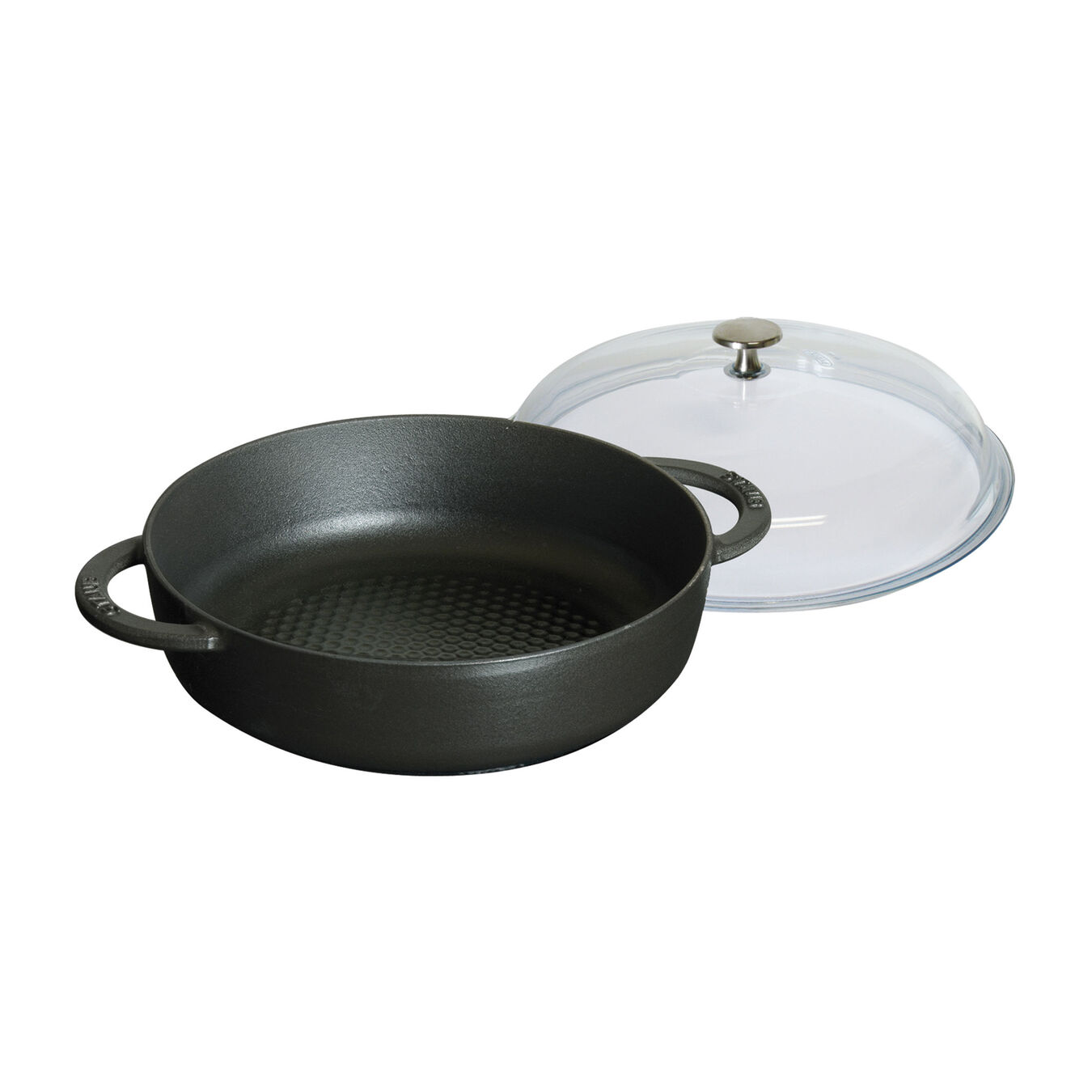 Sauteuse with glass lid 28 cm,,large 2