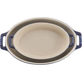 Staub Ceramics, 2-pc  Oval Baking Dish Set