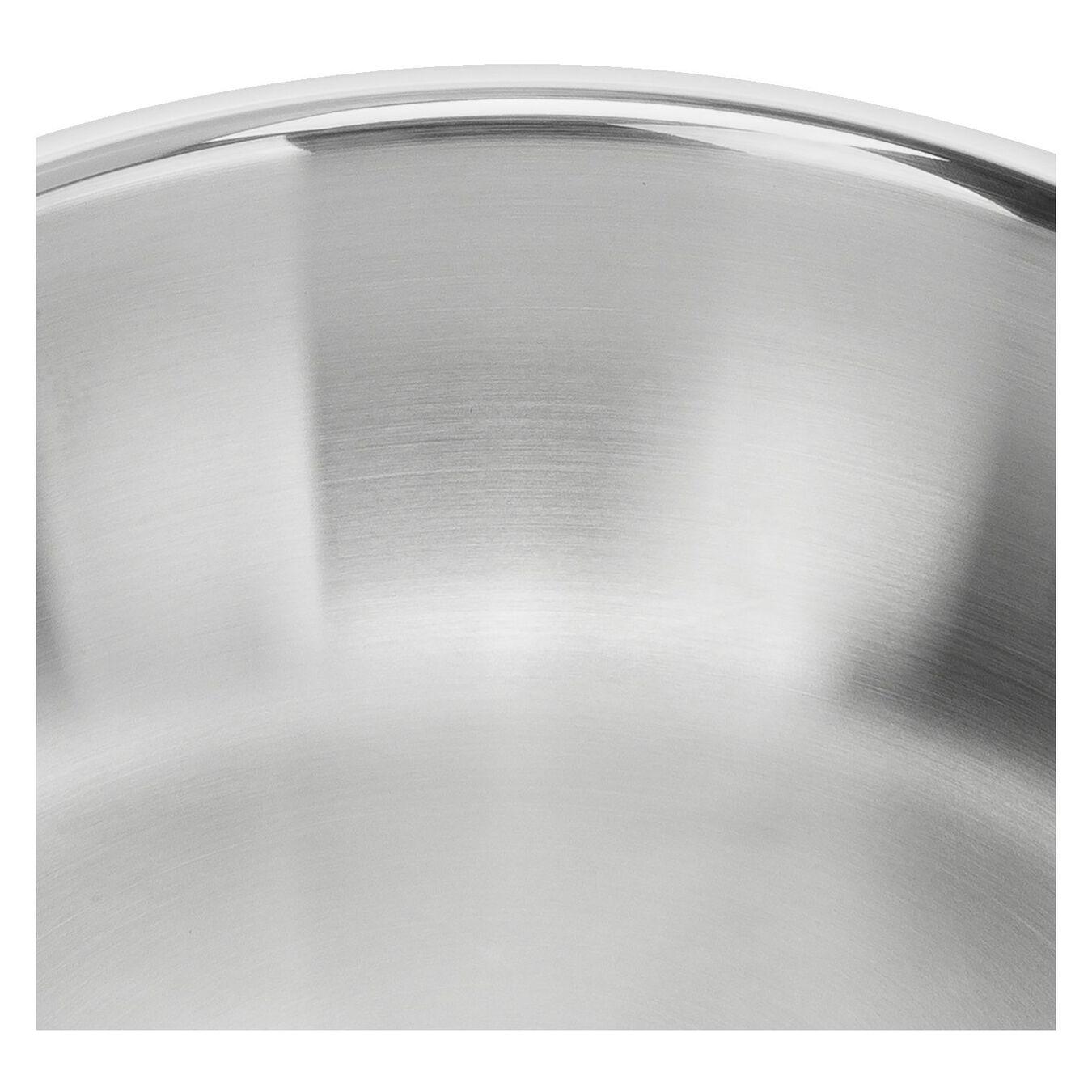 Bratpfanne 24 cm, 18/10 Edelstahl, Silber,,large 4