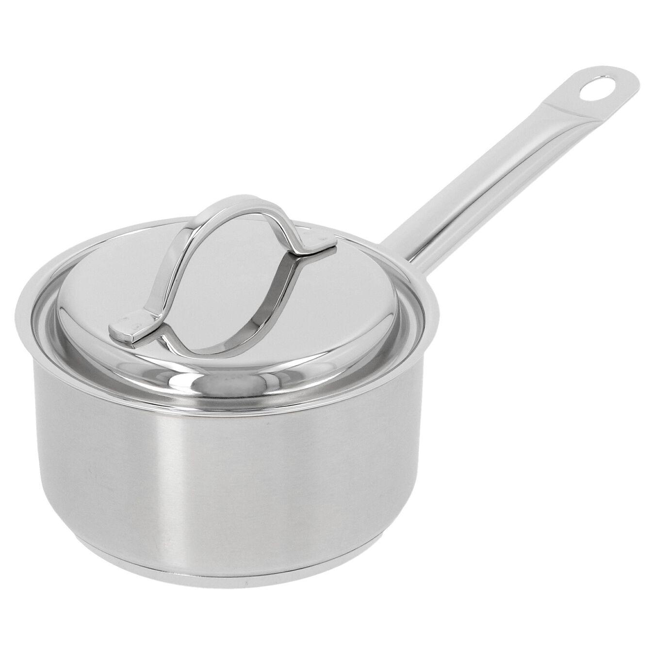 Steelpan met deksel 14 cm / 1 l,,large 2