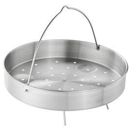 ZWILLING ECOQUICK, Buharda Pişirme Aparatı, Yuvarlak | 22 cm | 18/10 Paslanmaz Çelik | Metalik Gri
