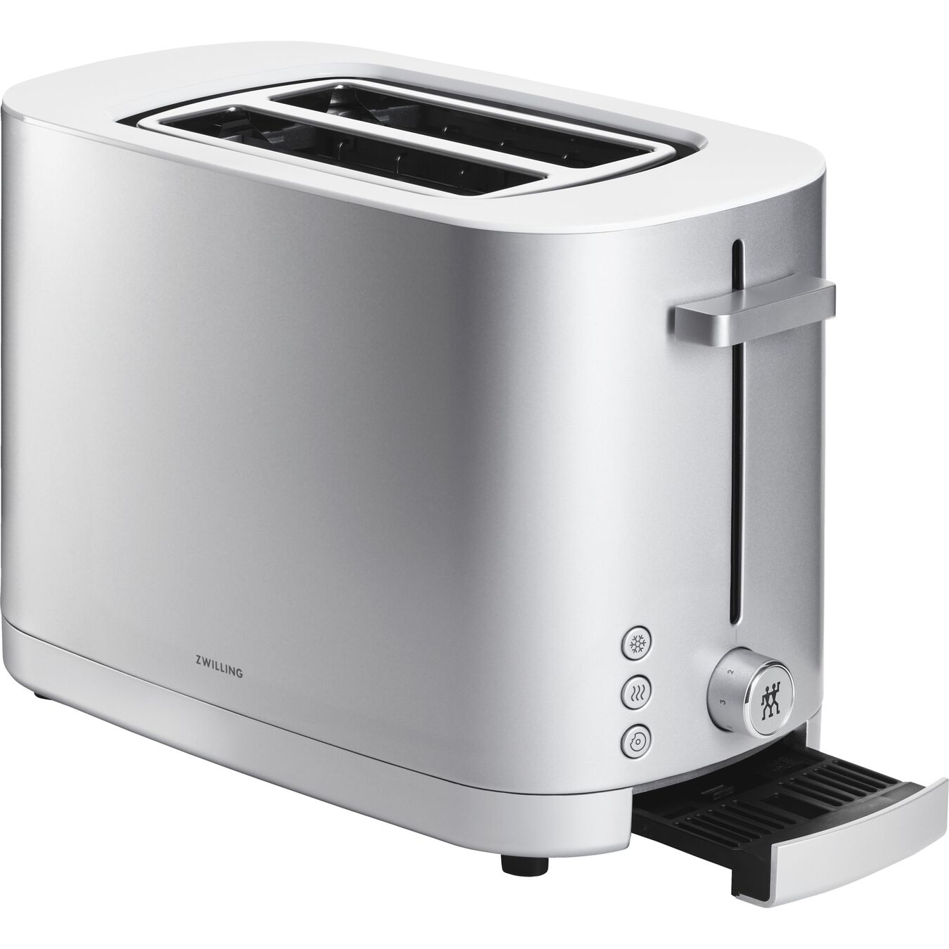 Toaster, 2 short  slots | Silver | US/CA,,large 3