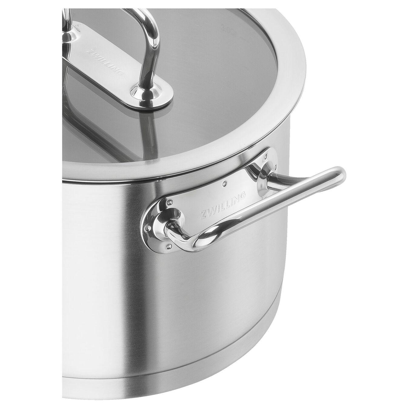 Suppegryde Højsidet 24 cm, 18/10 rustfrit stål,,large 2