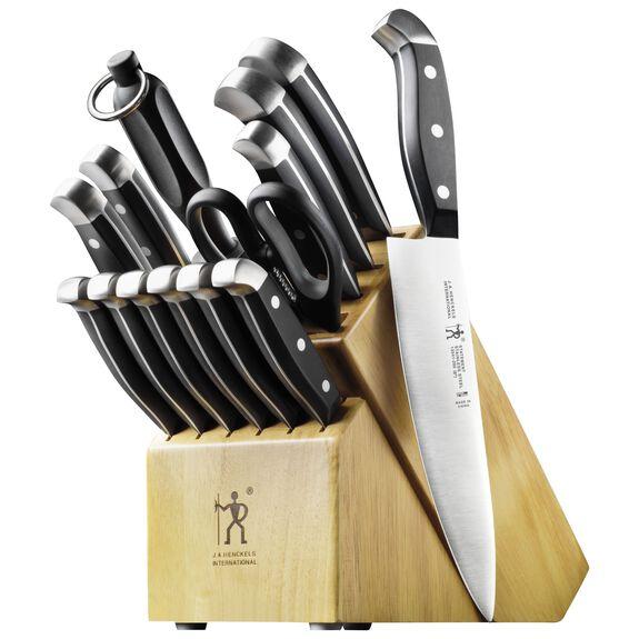 15-pc Knife Block Set,,large