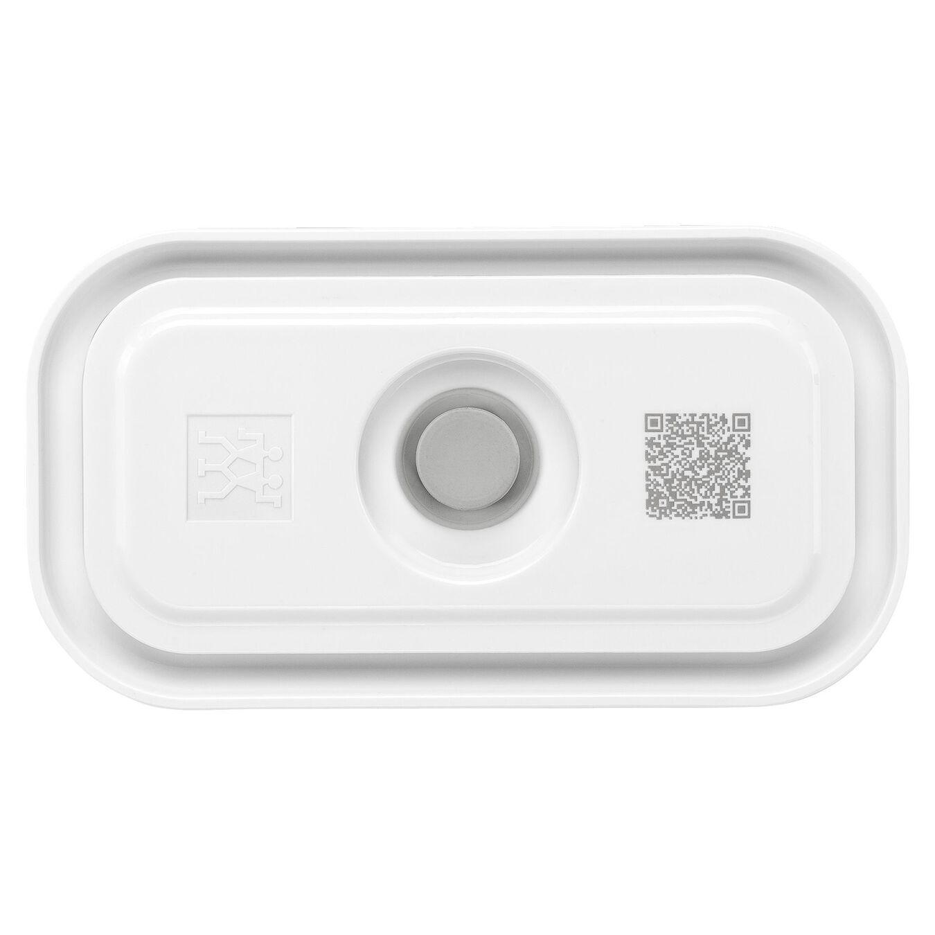 Contenitore sottovuoto - S, plastica, bianco,,large 2