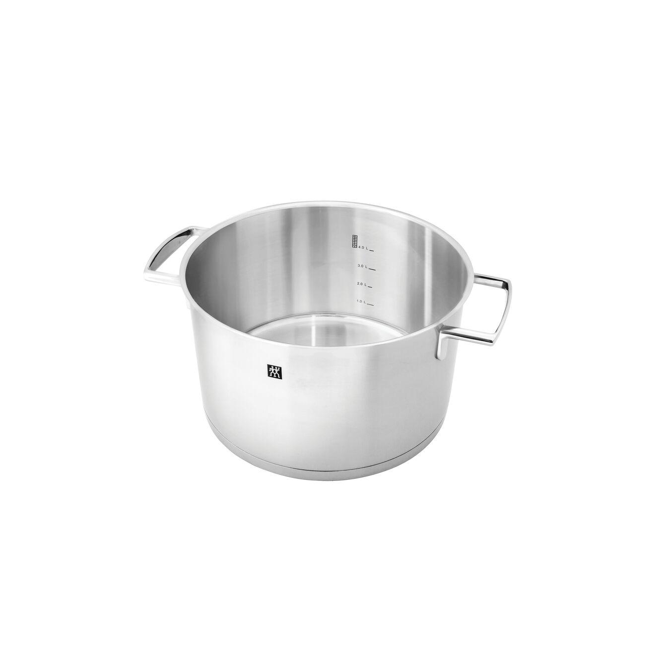 10-pcs 18/10 Stainless Steel Set de casseroles et de poêles,,large 6