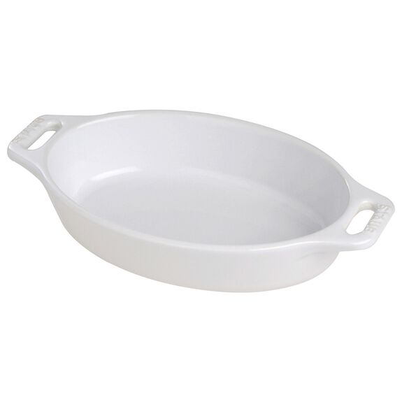 15-cm-/-6-inch Ceramic Roaster, Pure-White,,large
