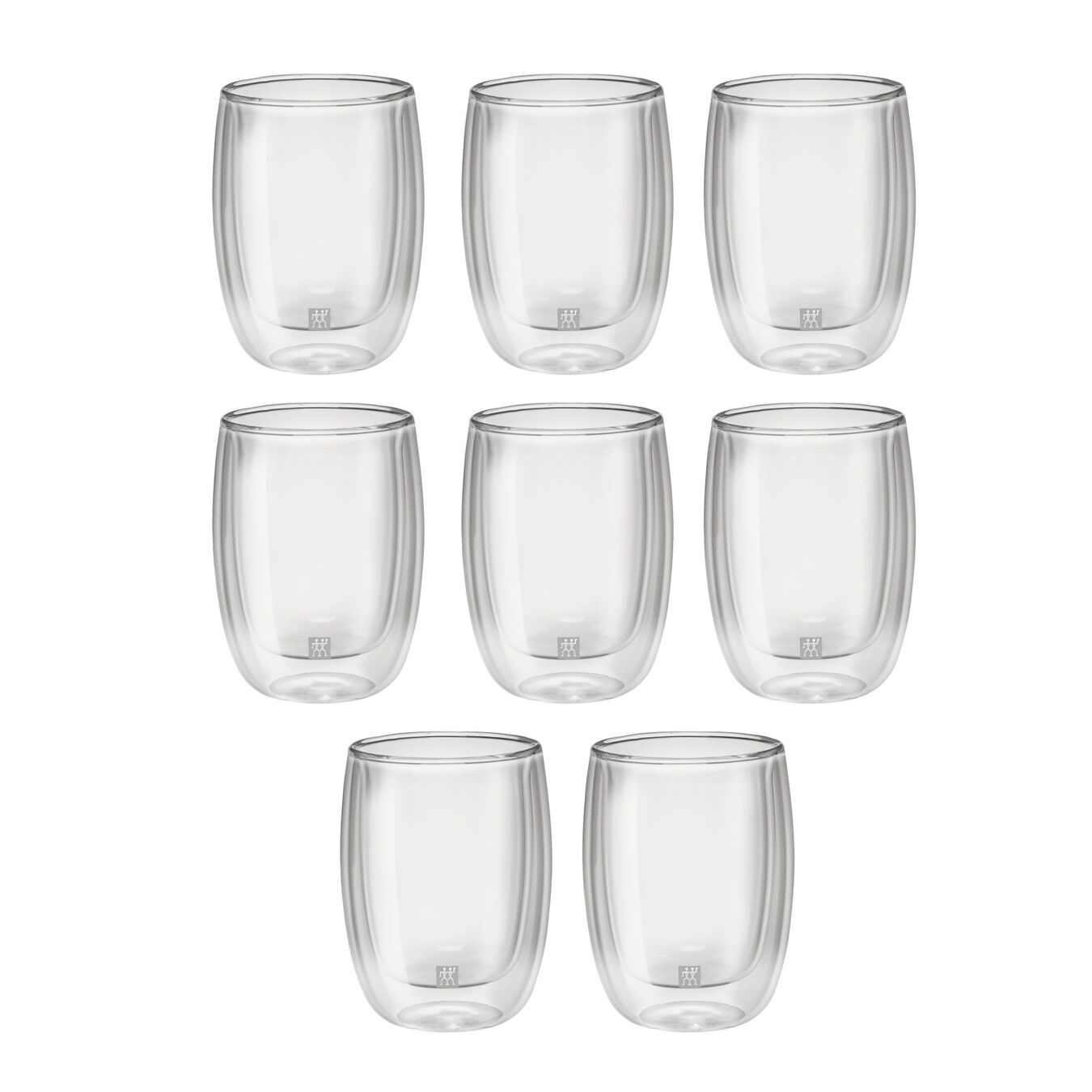 8 Piece Coffee Glass Set - Value Pack,,large 3