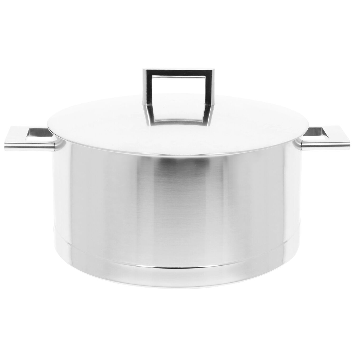 8.9 qt, 18/10 Stainless Steel, Dutch Oven with Lid,,large 1